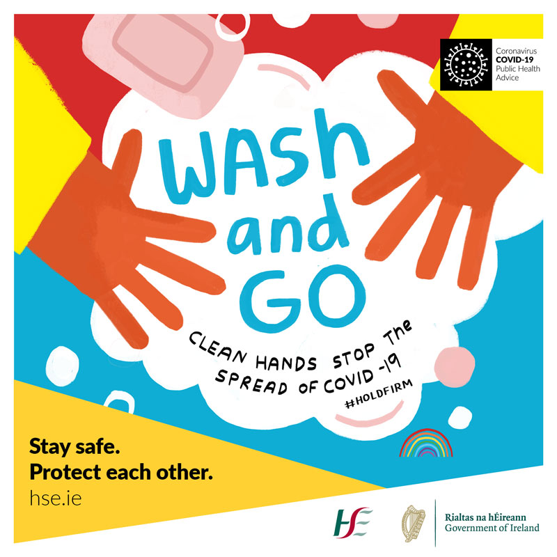 Wash and Go - Clean Hands Stop the Spread of Covid-19